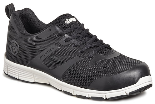 Unisex Black Lightweight Sports Trainer