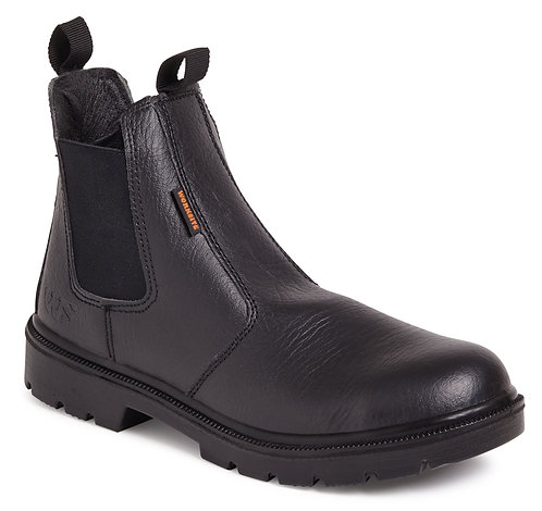 Black Safety Dealer Boot