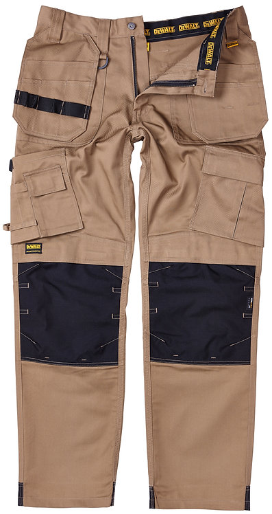 Pro-Tradesman Stone Knee Pad Holster Trouser