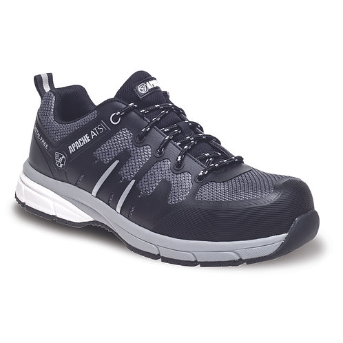Grey/Black Metal Free Sports Safety Trainer