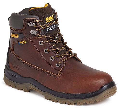 """Tan 6"""" Waterproof Safety Boot"""