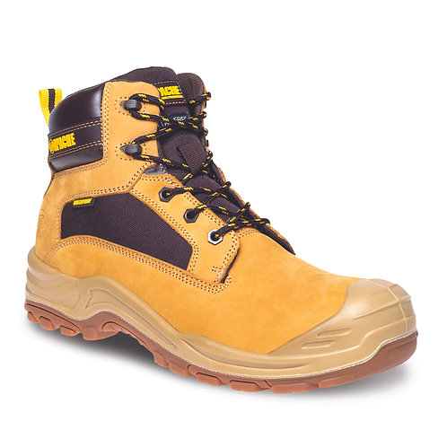 Honey Nubuck Metal Free Waterproof Safety Boot