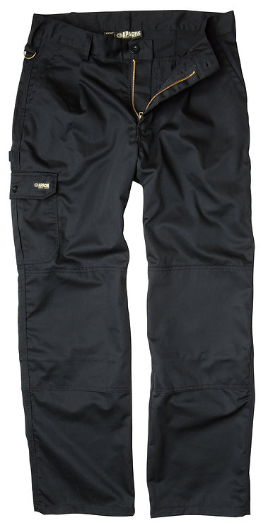 Black Industry Trouser