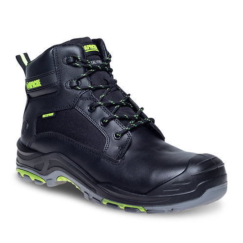 Black Metal Free Waterproof Safety Boot