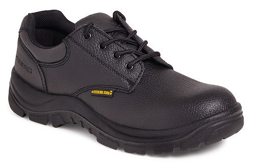 Unisex Black Safety Shoe