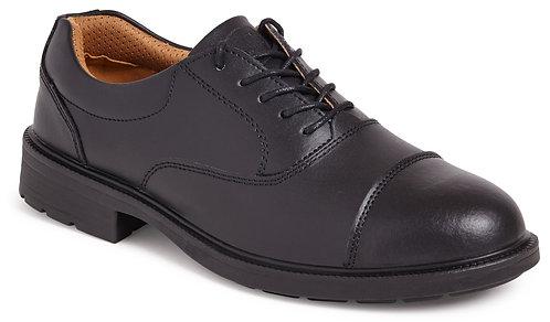 Black Oxford Safety Shoe