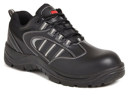 Unisex Black Non-Metallic Safety Shoe