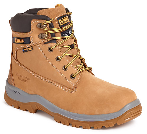 "Wheat 6"" Waterproof Safety Boot"