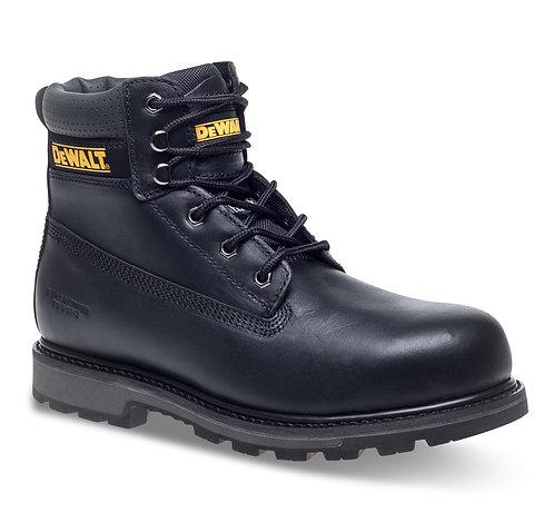 "Black Nubuck 6"" Safety Boot"