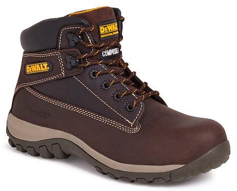 Brown Non-Metallic Safety Boot
