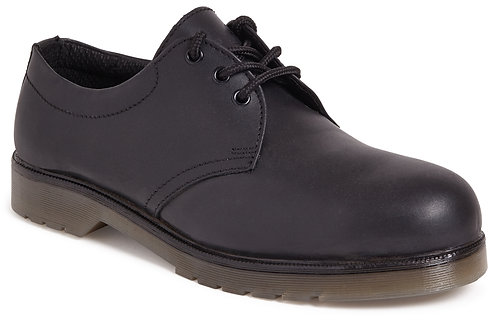 Unisex Black Air Cushion Safety Shoe