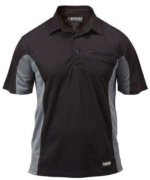 Dry Max Polo Shirt Black/Grey