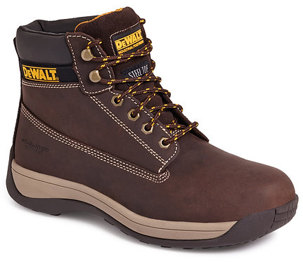 Brown Nubuck Safety Hiker