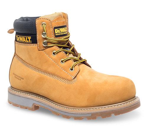 """Honey Nubuck 6"""" Safety Boot"""