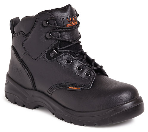 Black Mid-Cut Safety Boot