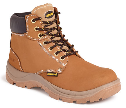 Wheat 6 Eye Hiker Boot