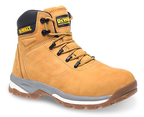 "Honey Nubuck 6"" Safety Hiker"