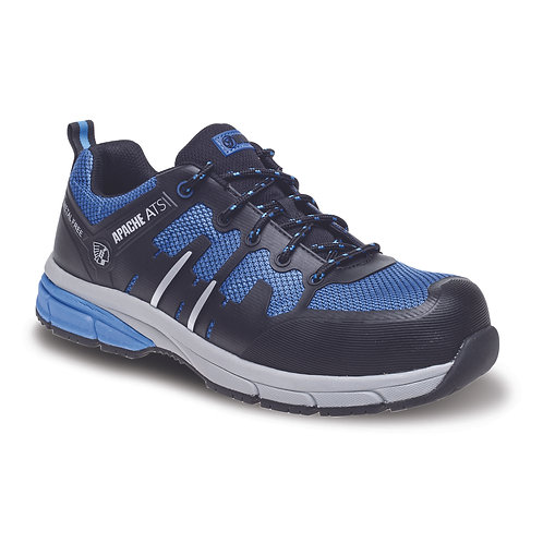 Blue/Black Metal Free Sports Safety Trainer