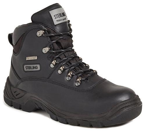 Unisex Black Waterproof Safety Hiker