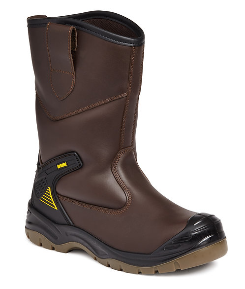 Brown Waterproof Rigger Boot