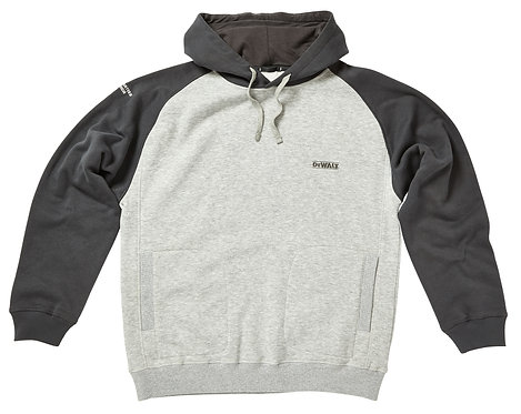 Cyclone Grey Marl Hooded Sweatshirt