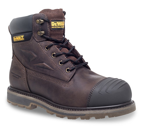 """Brown 6"""" Safety Boot"""