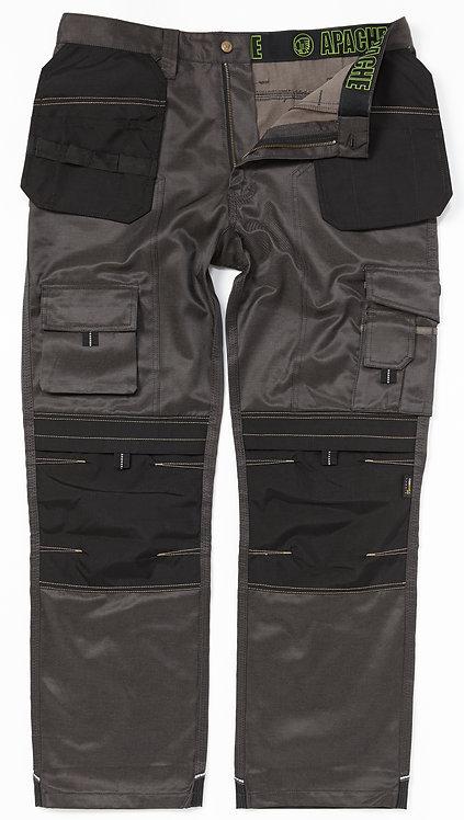 TWILL Grey/Black Holster Trouser