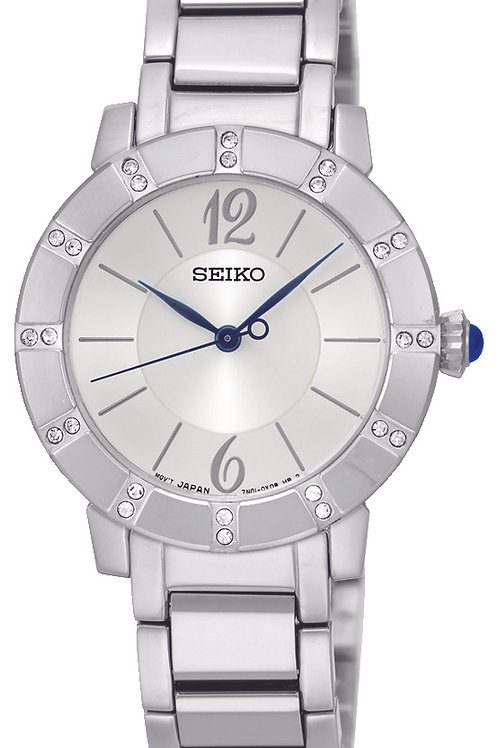 SEIKO LADIES 30MM 24 CRYSTALS