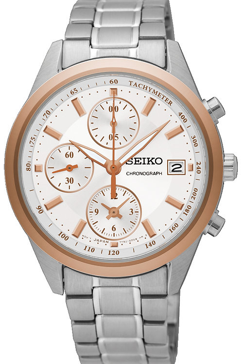 SEIKO LADIES 36MM 50M CHRONOGRAPH