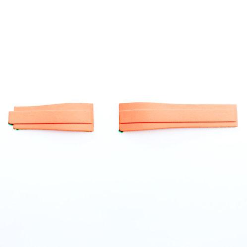 Gummi Rakt 40mm Orange