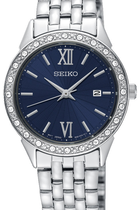 SEIKO LADIES 28MM SWAROVSKI CRYSTALER