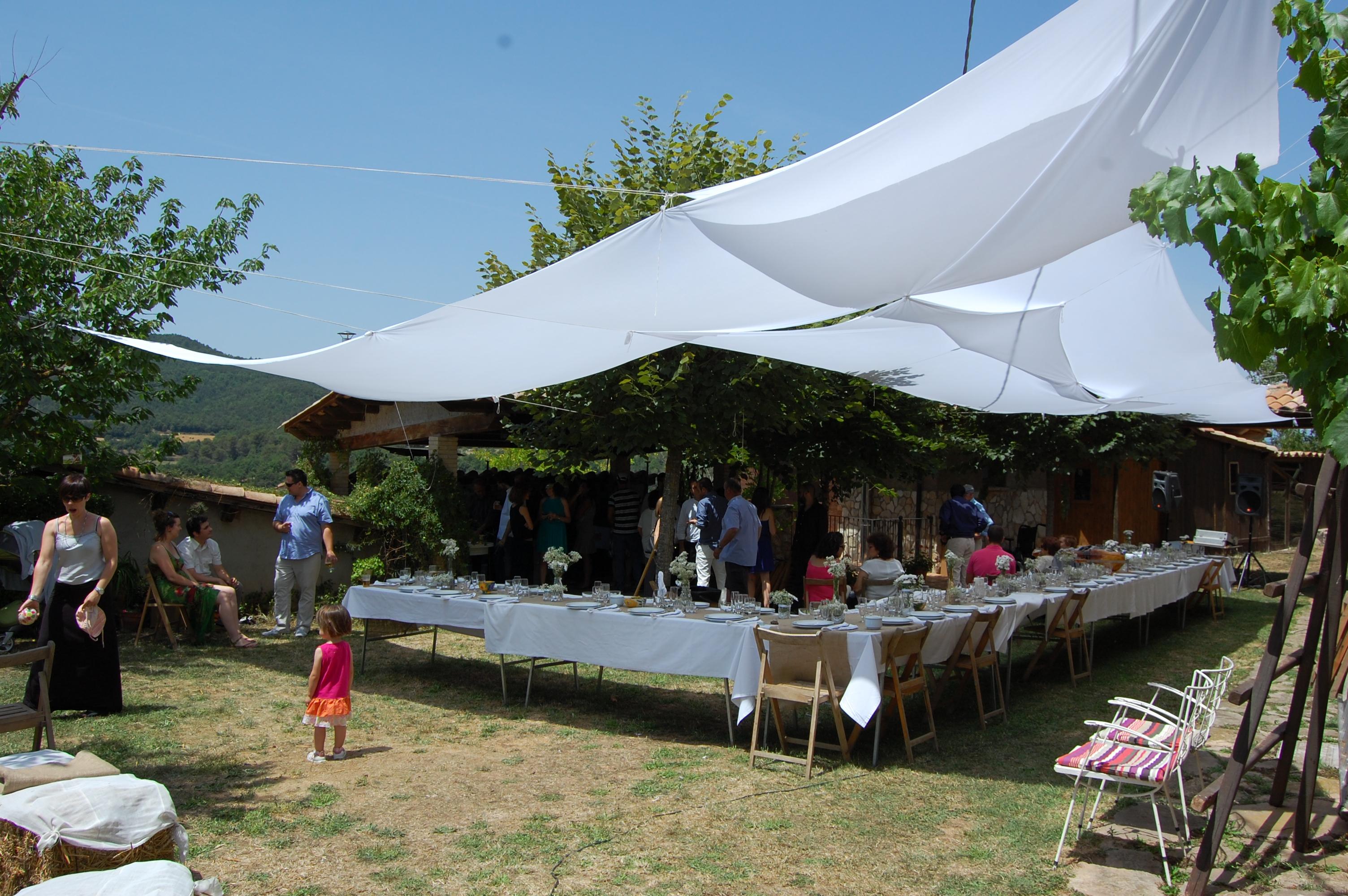El jardí muda't per anar de casament