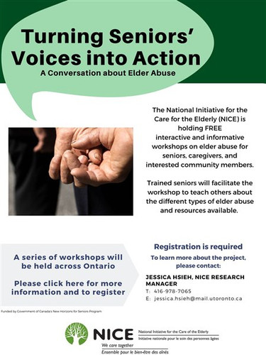 Turning Seniors' Voices Into Action—Elder Abuse Workshop