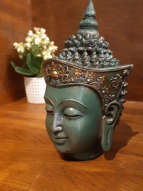 Rosto Buda tibetano
