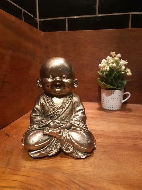 Buda bebê sorrindo - sabedoria