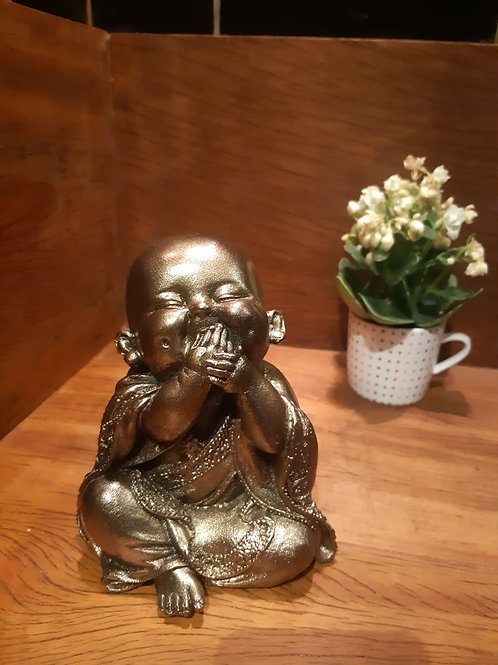 Buda bebê sorrindo