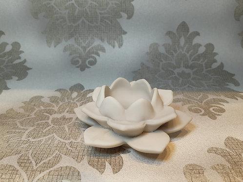 Porta vela ou porta incenso flor de lótus