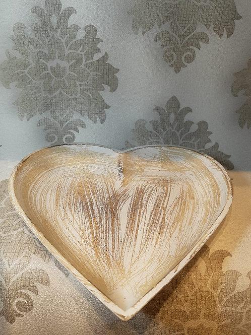 Bandeja coração grande