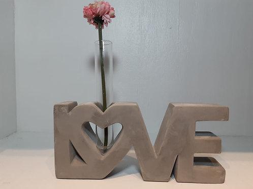 Vaso de Concreto Love Shack