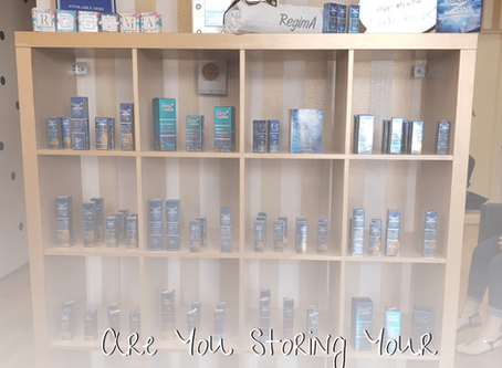 Are you storing your products correctly?