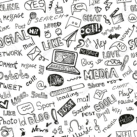 40621721-Social-Media-Word-Icon-seamless