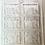 "Thumbnail: Shabbat Shalom Chocolate Bar Mold 6 Cavities each 3.25 x 2.5"" - English"