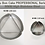Thumbnail: The Perfect Hamantaschen  Maker for Purim - Cookie Cutter - Stainless Steel