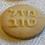 Thumbnail: Jewish Hebrew Mazal Tov Fondant Cutters Embosser SET - Oreo size Round