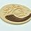 Thumbnail: Shana Tova, Shofar, Rosh Hashanah, English or Hebrew, Cookie Cutter Fondant Embo