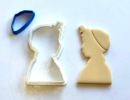 Bar Mitzvah Boy Tefillin Kippah Jewish Fondant/Cookie Cutter 2pc SET