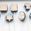 Thumbnail: Cake Pop Stamp Jewish Star of David with Fondant Embosser 2pc set