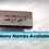 "Thumbnail: Boy/Man Hebrew Names Chocolate Mold  2.25""x1.25"" 9 cavity"