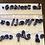"Thumbnail: Hebrew SCRIPT Font 27 Fondant Letter Cutter Set 1""-3"""