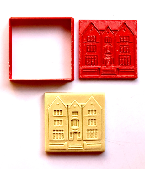 """Chabad Lubavitch Headquarters 770 Cookie Cutter 2-pc 2.75"""""""